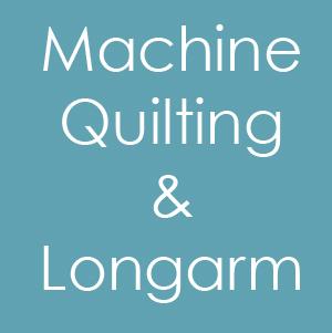 Machine Quilting / Longarm